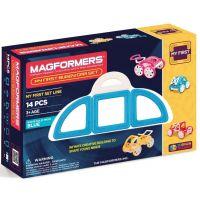 Magformers Moje prvé Bugy modré