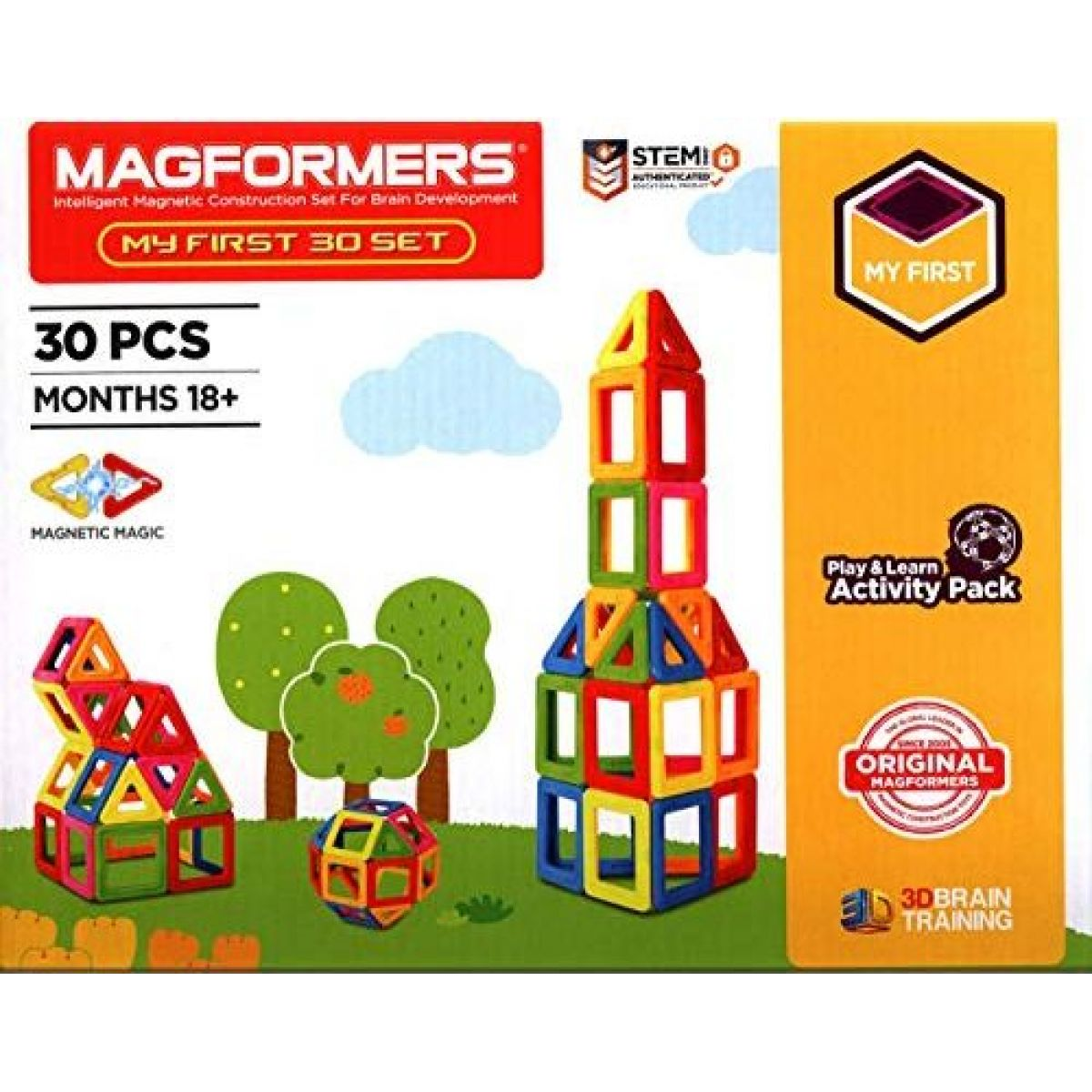 Magformers Můj první 30 dielikov