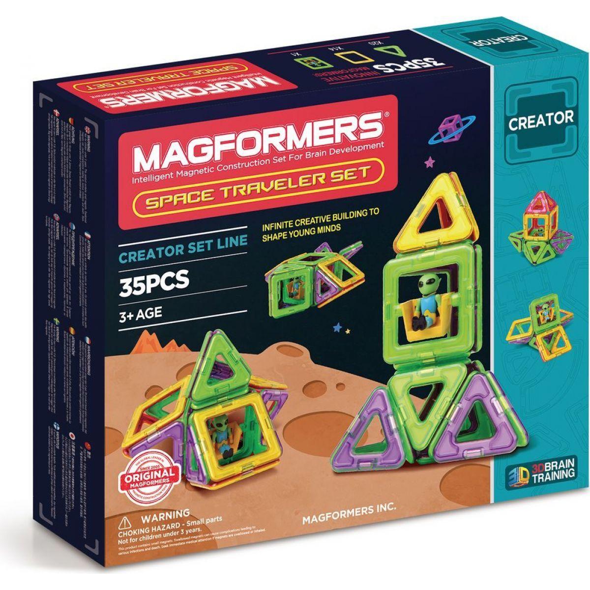 Magformers Space Traveler 35 dielikov