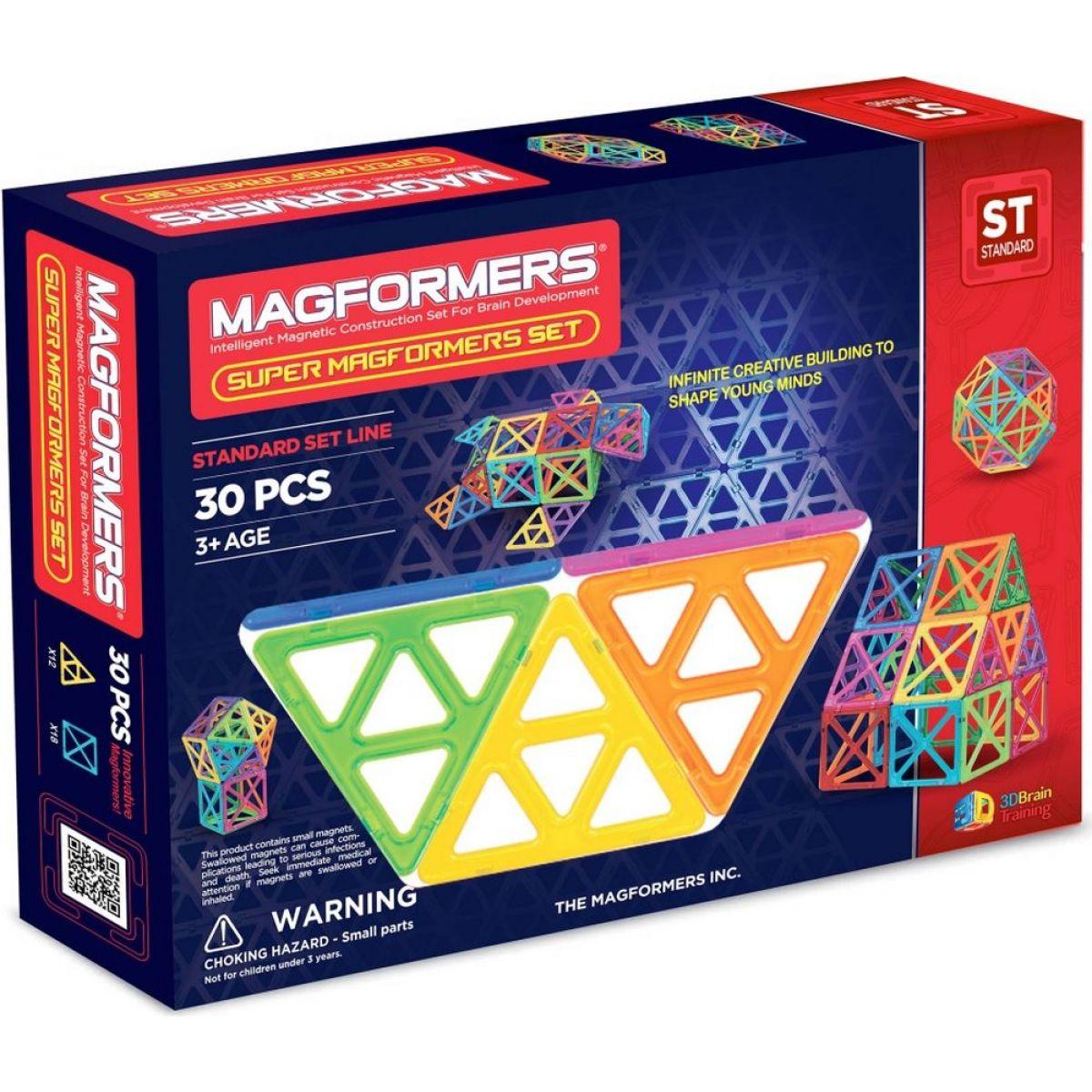Magformers Super 30 dielikov