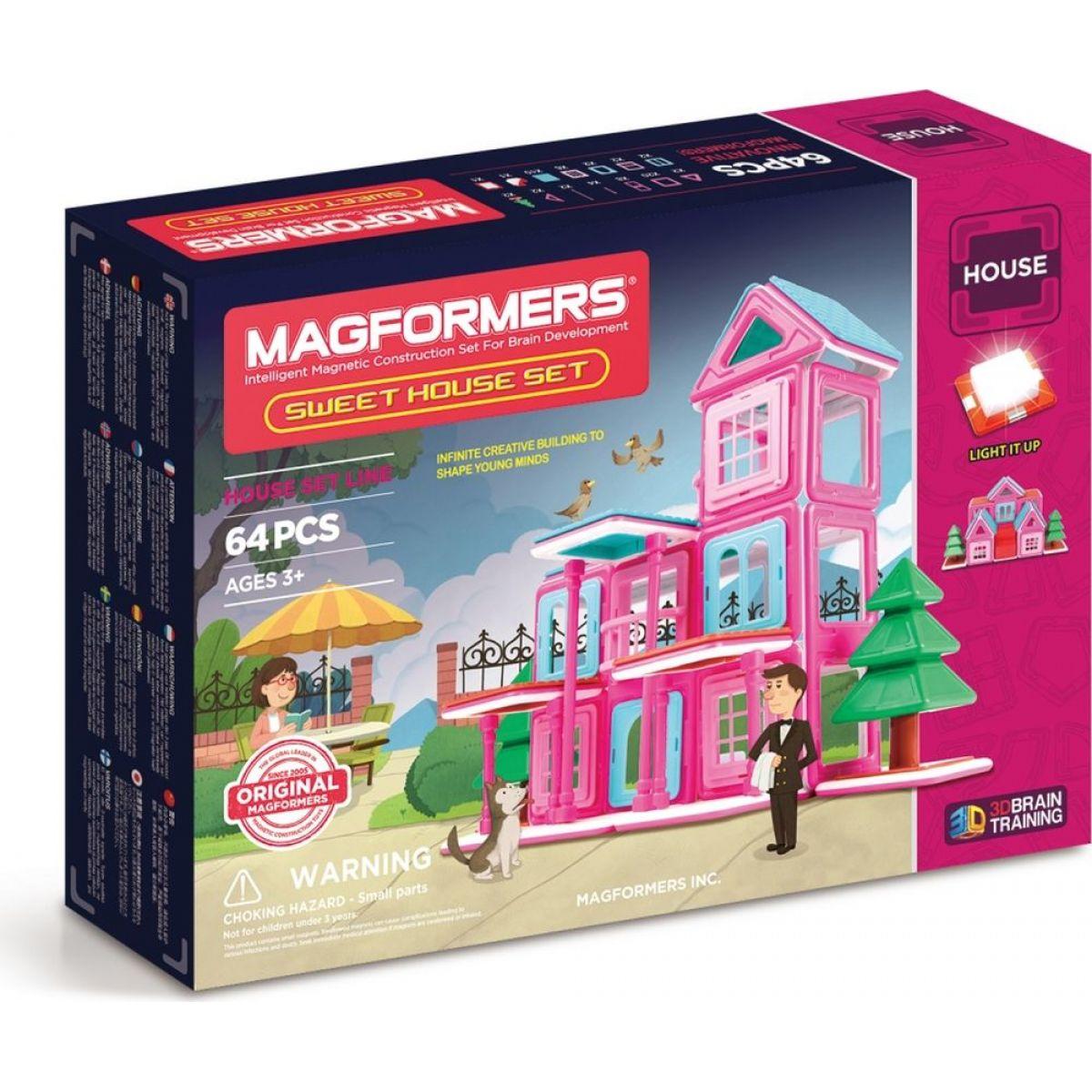 Magformers Sweet House 64 dielikov