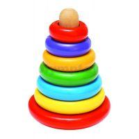 WOODY Drevená pyramída