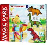 Magnetická stavebnice Magic Park DINO 30