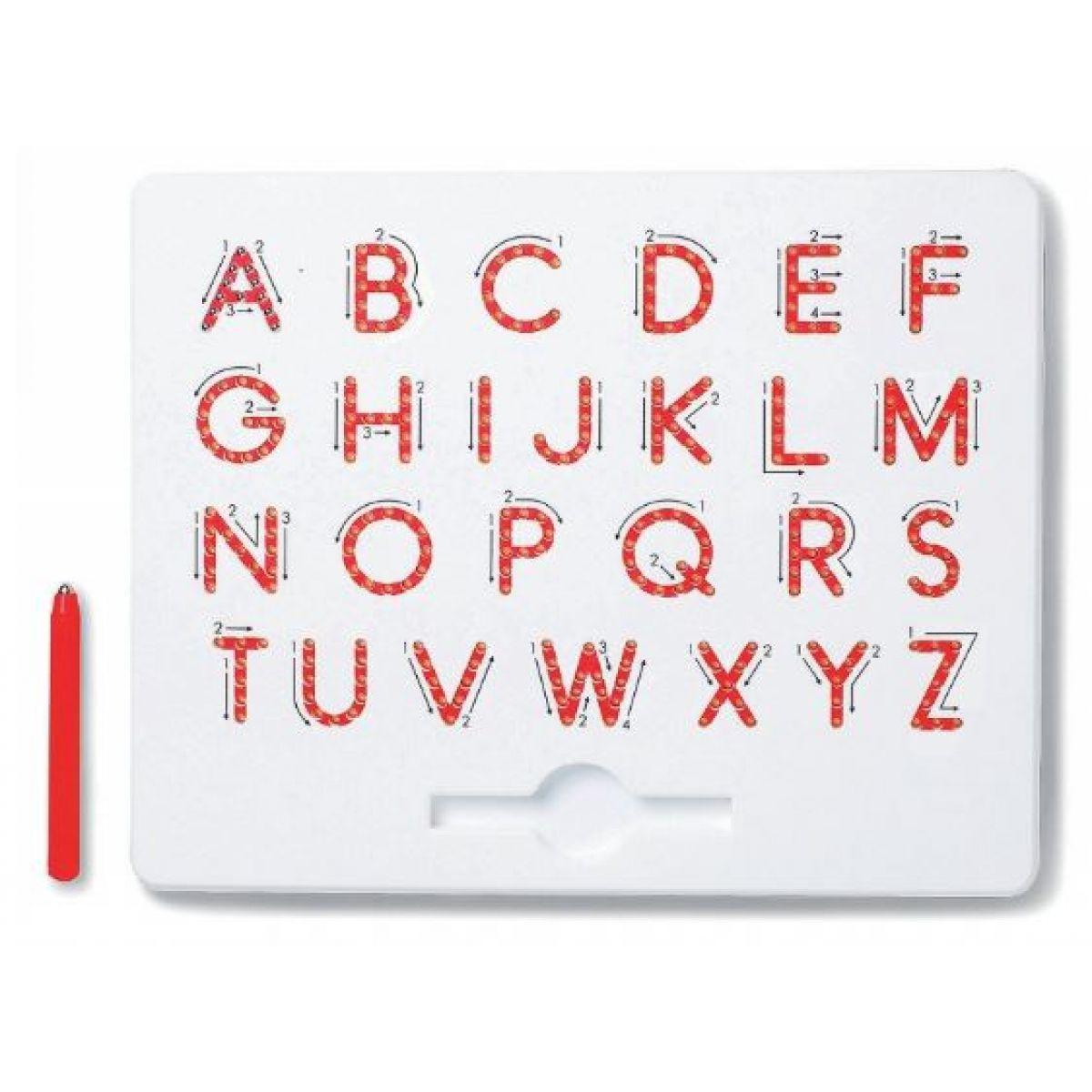 Magpad Magnetická kresliaca tabuľa ABC Veľké písmená