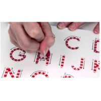 Magpad Magnetická kresliaca tabuľa ABC Veľké písmená 3
