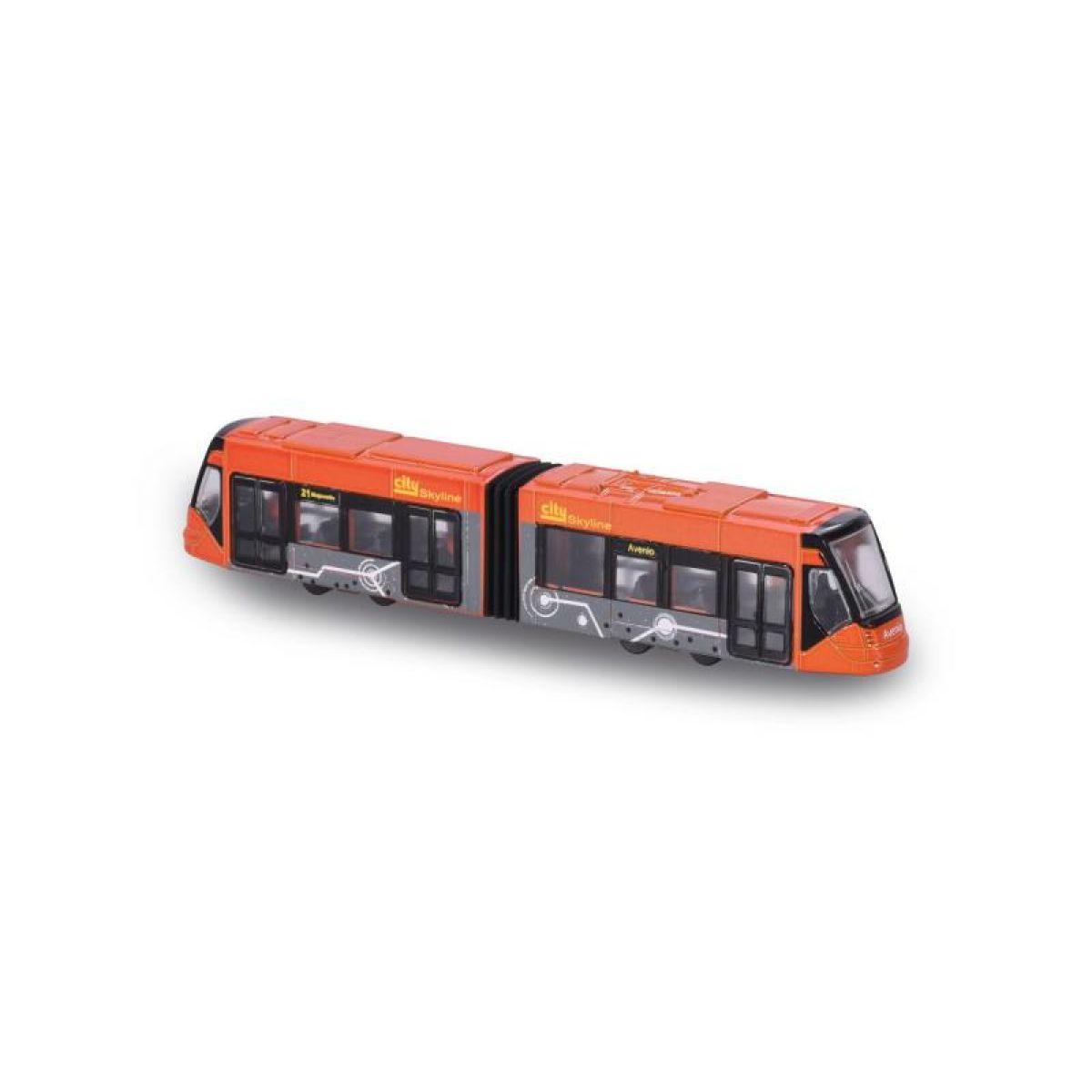 Majorette Tramvaj Siemens Avenio kovová Červená