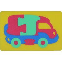 Malý Génius Pěnové puzzle Kamion 12 ks