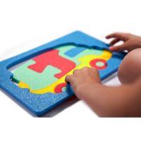 Malý Génius Penové puzzle Kamión 12 ks 3