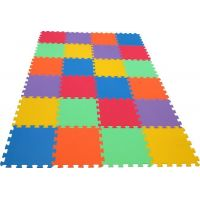Malý Genius Penový koberec 16 mm Maxi 6 barev 24 ks