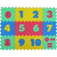 Malý Génius Penový koberec čísla 12 dielov