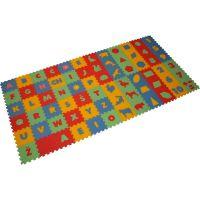 Malý Génius Penový koberec 8 mm mix 72 dielikov