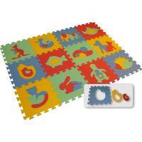 Malý Génius Pěnový Maxi koberec zvířata 12 dílů