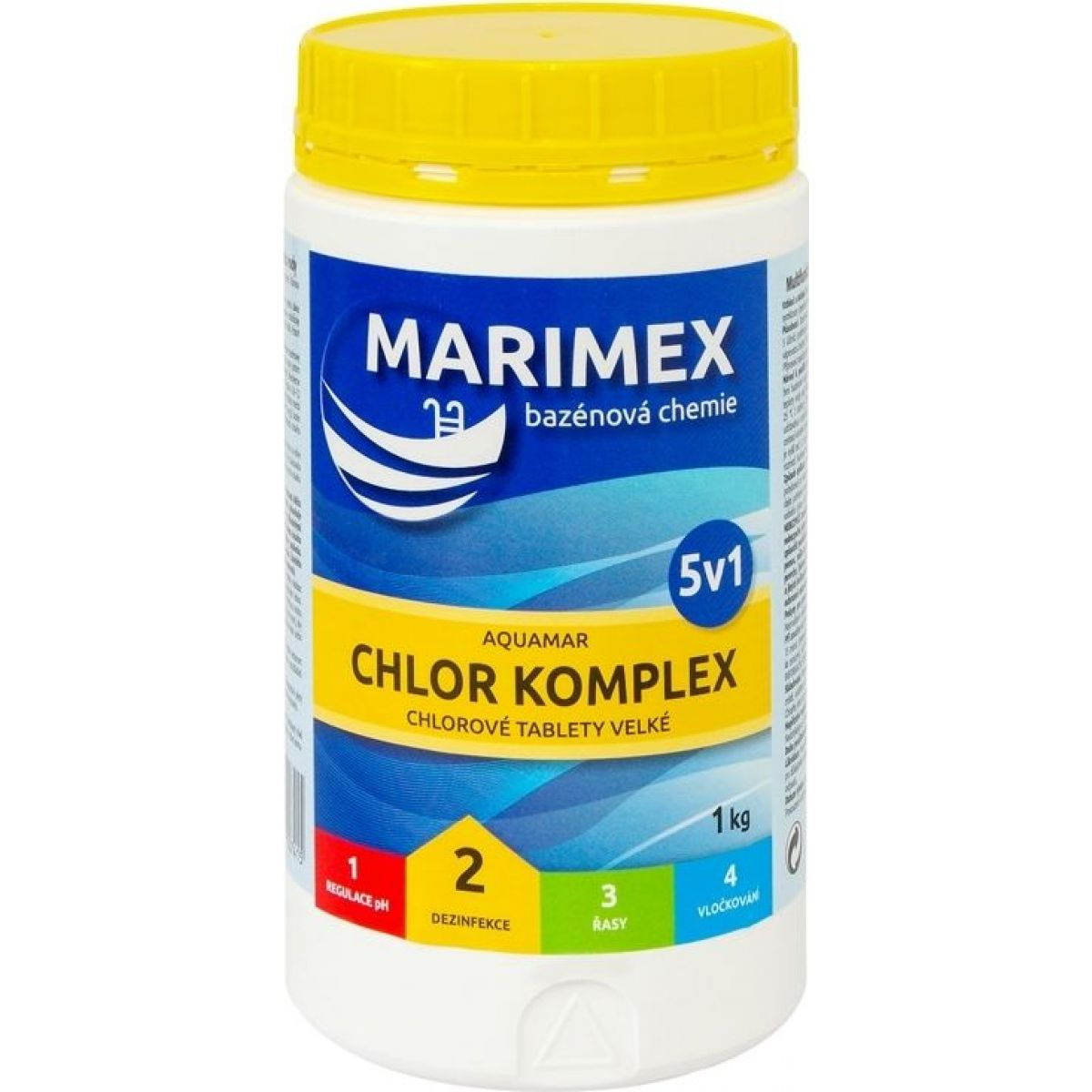 Marimex Chlór Komplex 5v1 1 kg