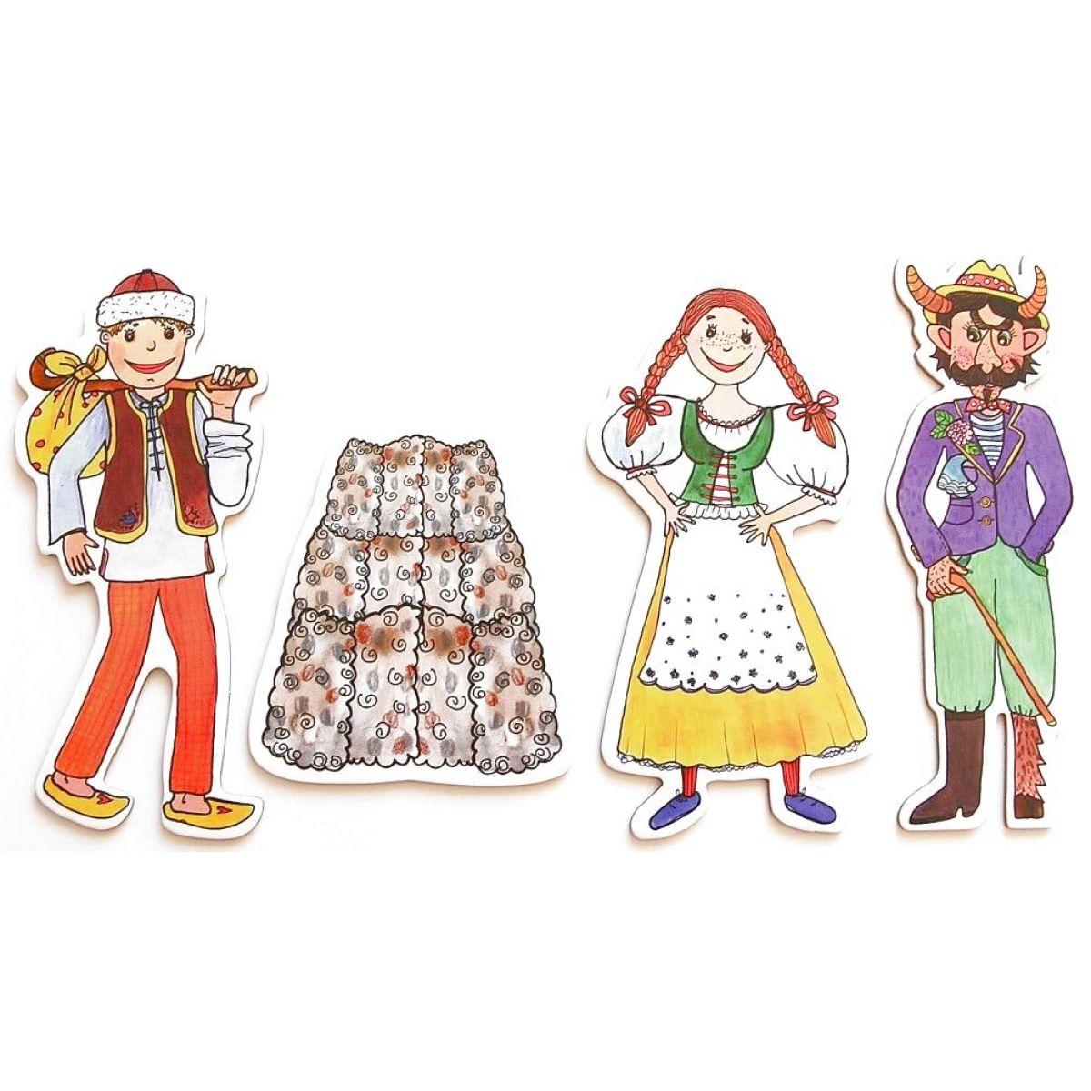 Marionetino Čert, Honza a Káča