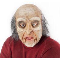 Rappa Maska muž s vlasmi a pohyblivou mimikou