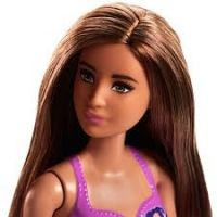 Mattel Barbie v plavkách Fialová so vzorom 3