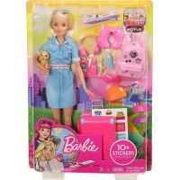 Mattel Barbie cestovatelka blondýnka Barbie 6