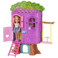 Mattel Barbie Chelsea a domeček na stromě 2