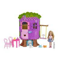 Mattel Barbie Chelsea a domeček na stromě 3
