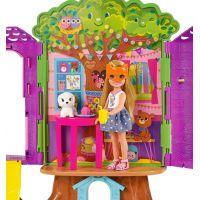 Mattel Barbie Chelsea a domeček na stromě 4
