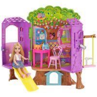 Mattel Barbie Chelsea a domeček na stromě 5