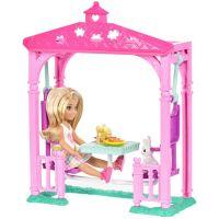 Mattel Barbie Chelsea s doplňky Zahradní houpačka 2