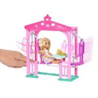 Mattel Barbie Chelsea s doplňky Zahradní houpačka 3