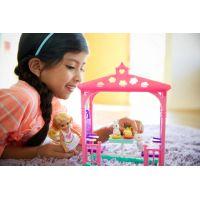 Mattel Barbie Chelsea s doplňky Zahradní houpačka 5