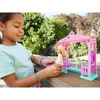 Mattel Barbie Chelsea s doplňky Zahradní houpačka 6