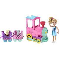 Mattel Barbie Chelsea s vláčkem 2