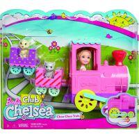 Mattel Barbie Chelsea s vláčkem 4