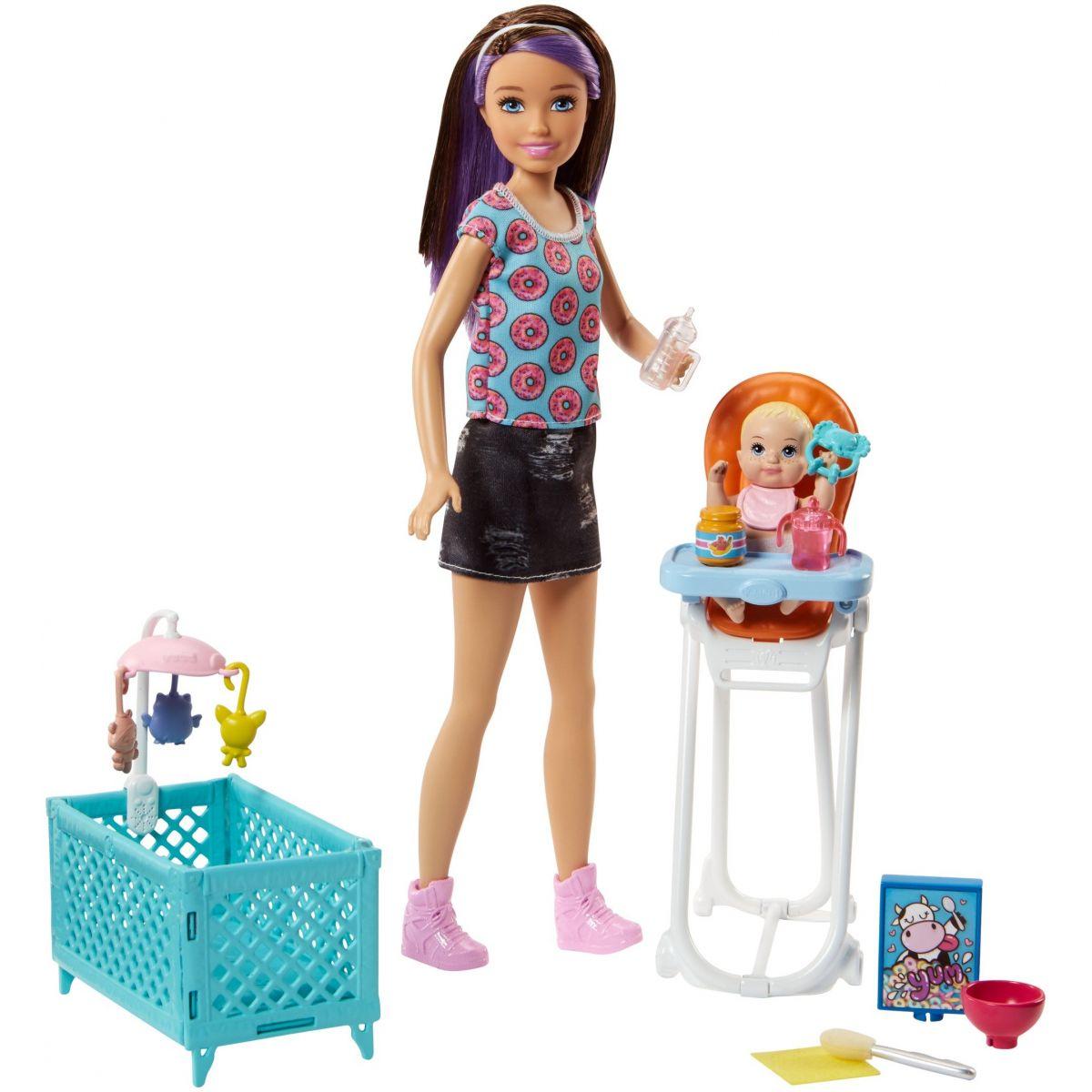 Mattel Barbie Opatrovateľka Herný set FHY98