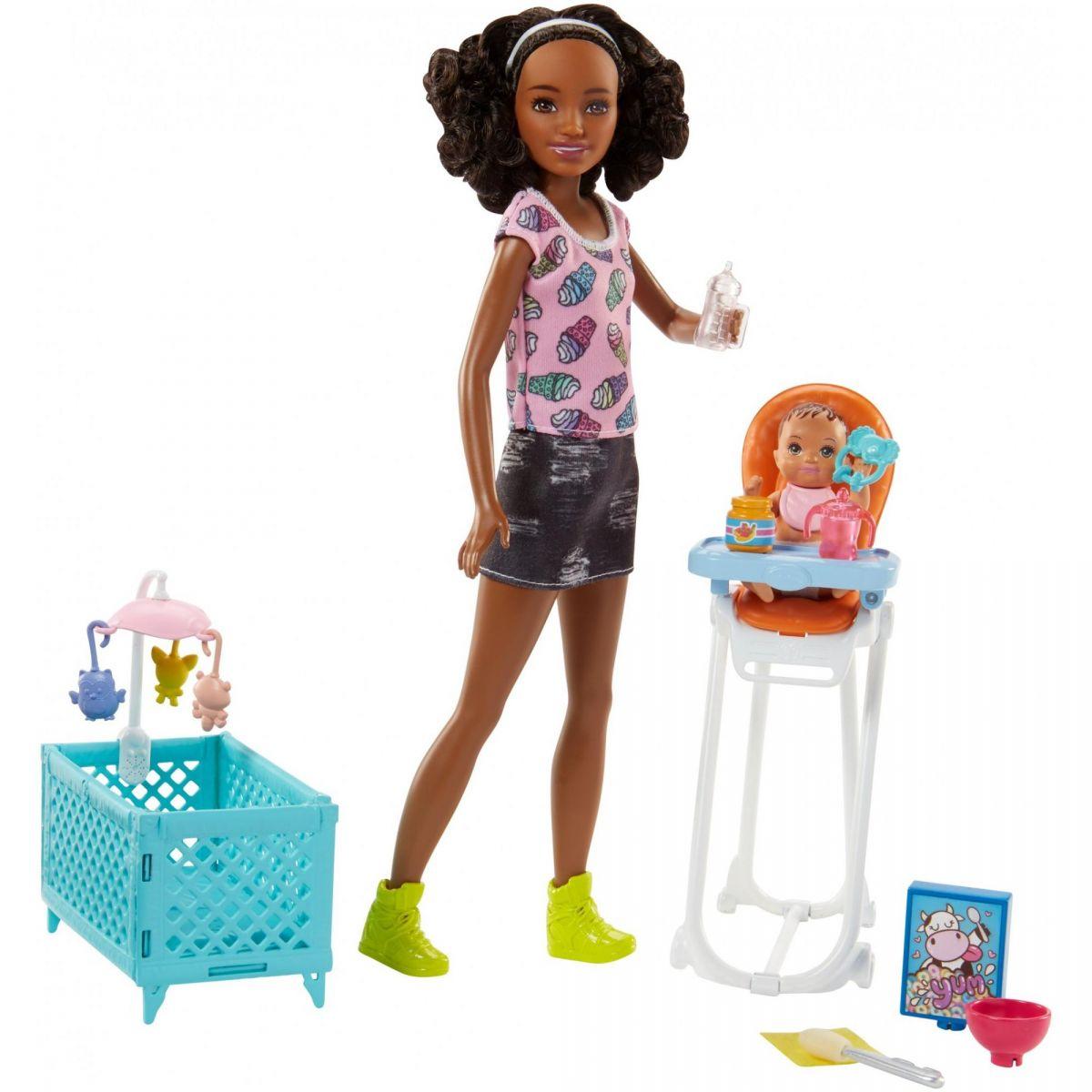 Mattel Barbie Opatrovateľka Herný set FHY99