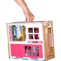 Mattel Barbie Dom 2v1 a bábika 3