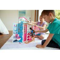 Mattel Barbie Dom 2v1 a bábika 4