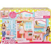 Mattel Barbie Dom 2v1 a bábika 5
