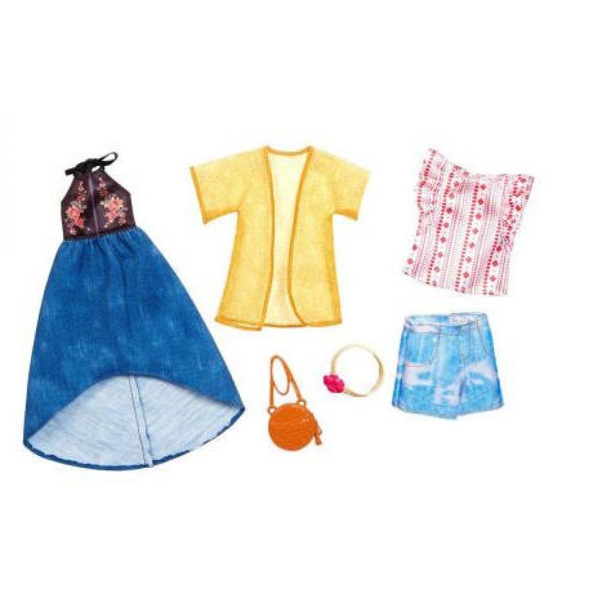 Mattel Barbie Dvojdielny set oblečenie FKT40