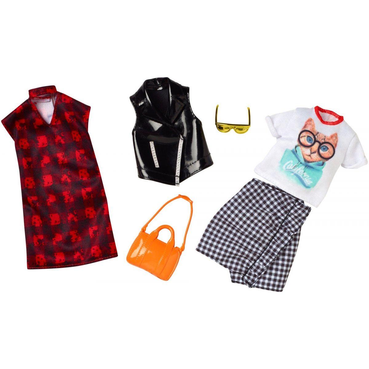 Mattel Barbie Dvojdielny set oblečenie FKT41