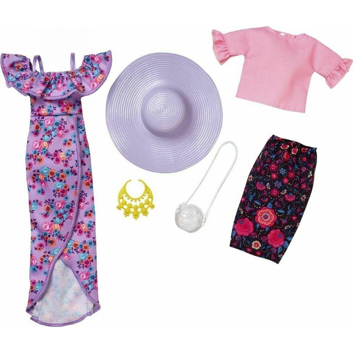 Mattel Barbie Dvojdielny set oblečenie FKT42