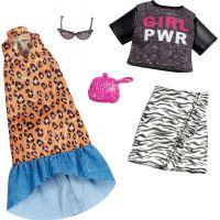 Mattel Barbie Dvoudílný set oblečení FXJ65