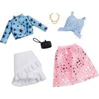 Mattel Barbie Dvoudílný set oblečení FXJ66