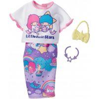 Mattel Barbie Hello Kitty Tématické oblečky FKR70