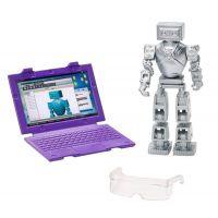 Mattel Barbie inženýrka robotiky Fialovláska 6