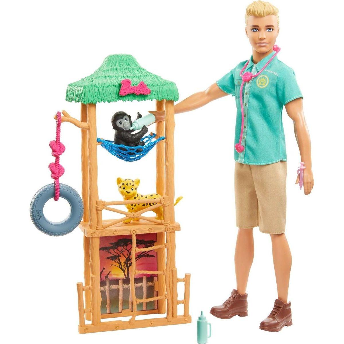 Mattel Barbie Ken a povolania herné set Ken - veterinár