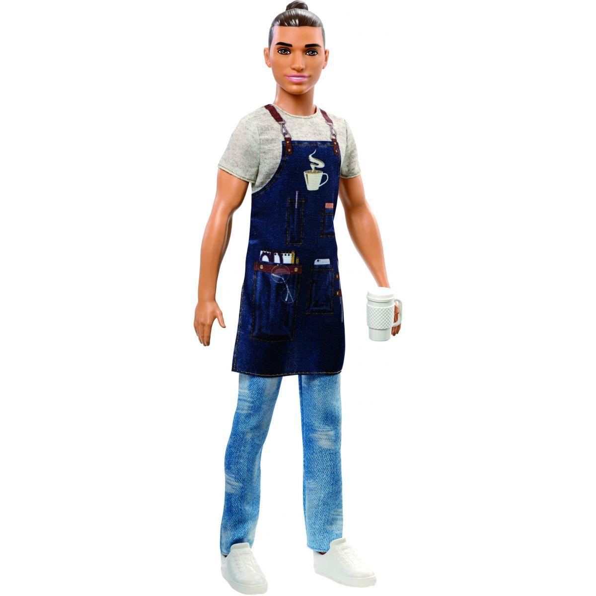 Mattel Barbie Ken povolania barista