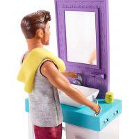 Mattel Barbie Ken s nábytkom umývadlo 3
