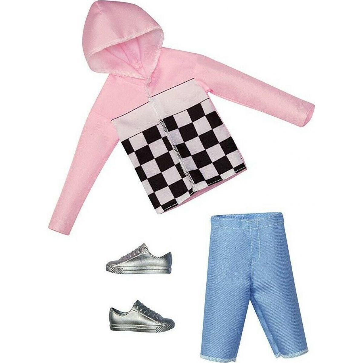 Mattel Barbie KENOVA oblečky ružová bunda