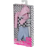 Mattel Barbie KENOVA oblečky ružová bunda 2