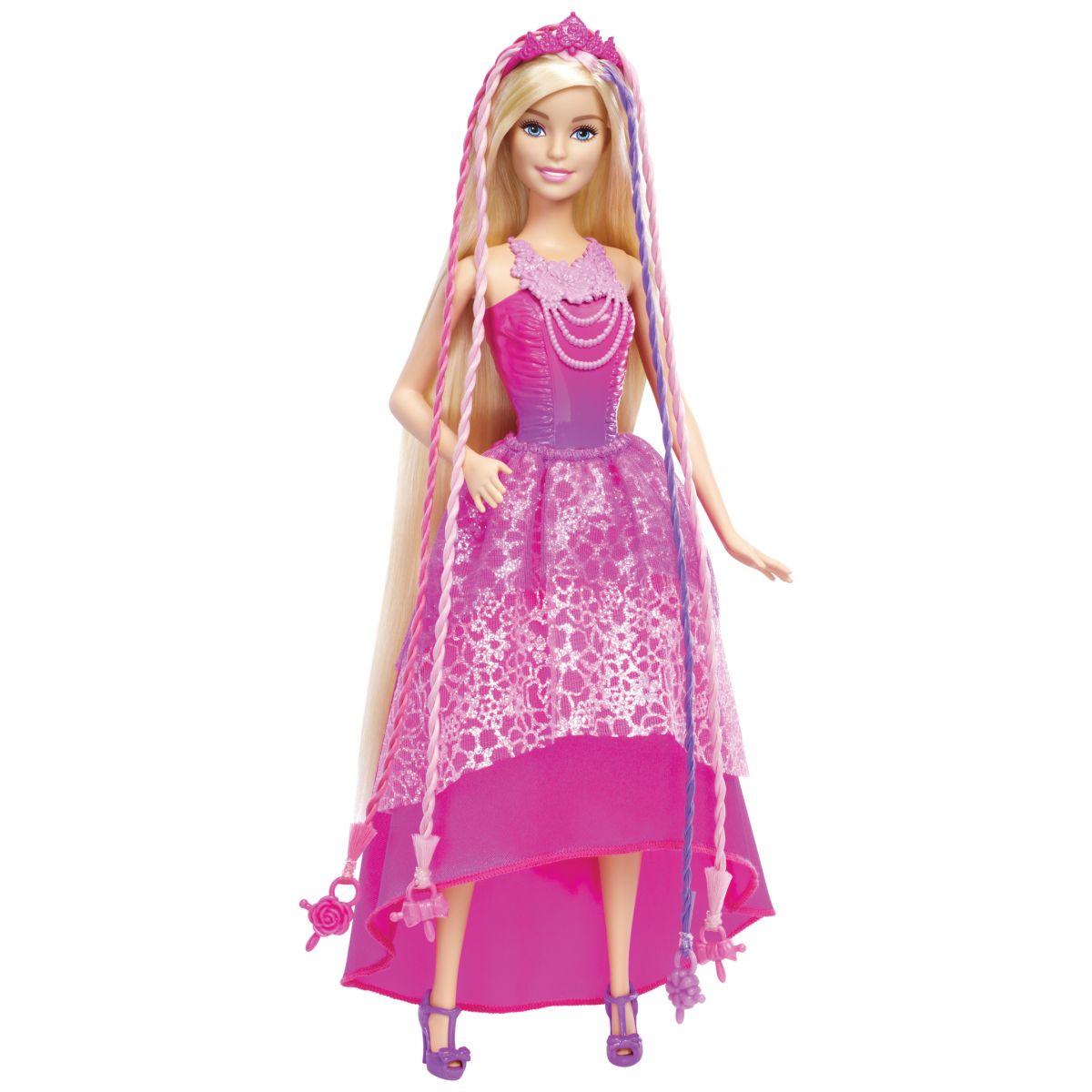 Mattel Barbie s kúzelnými vlasmi