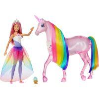 Mattel Barbie kouzelný jednorožec a panenka - Poškodený obal